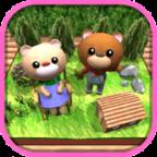 逃脱杏彩:森林里的小熊屋 3DM汉化版