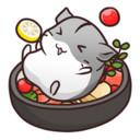 可爱的仓鼠餐厅