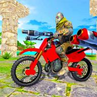 摩托车沙滩搏斗