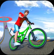 IOS BMX自行车超级坡道