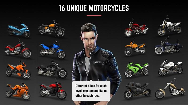 疯狂赛车:摩托