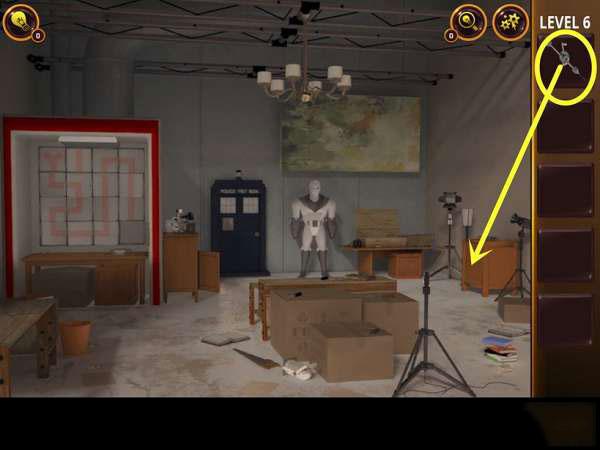 《密室逃脱4:逃出电影院》第6关攻略