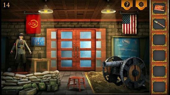 《密室逃脱5:逃出博物馆》第14关攻略