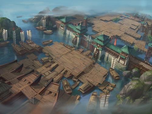 《权倾三国》版本新之美  原画欣赏