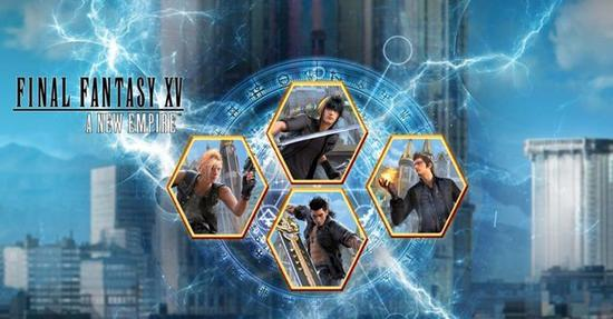 游戏互动再无阻碍《最终幻想15》手游版即将登陆台湾市场