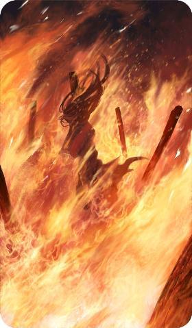 《命运冠位指定》火刑的地狱礼装图鉴