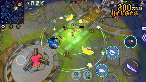 300英雄手游版《300大作战》开测 掌上英雄大乱斗