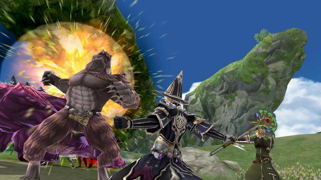 FF系列最新手游《最终幻想:探索者之力》预约开放