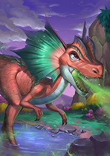 《我的恐龙》双脊龙介绍