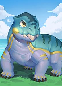 《我的恐龙》水龙兽介绍