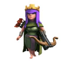 部落冲突弓箭女王伤害如何_部落冲突弓箭女王