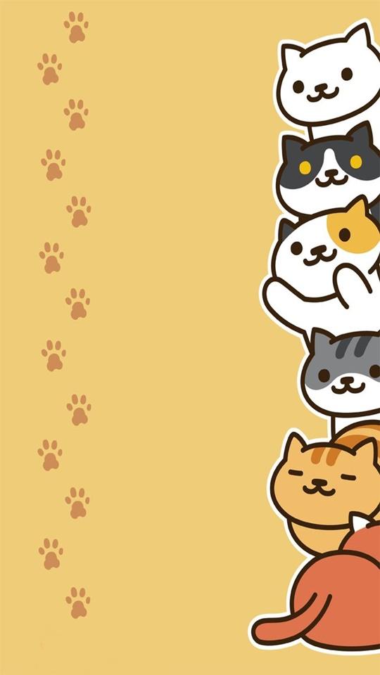 猫咪后院壁纸