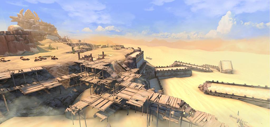 《传奇世界3D》评测:360°看中州全景,上天入地三路热血攻沙!