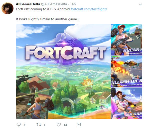 网易吃鸡手游《FortCraft》国外开启Beta测试 很火爆