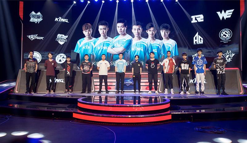 《QQ飞车手游》S联赛常规赛开赛,12支俱乐部角逐上海最大赛车场