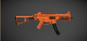 《绝地求生:刺激战场》UMP9-赤橙皮肤图鉴