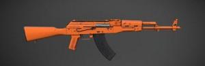 《绝地求生刺激战场》AKM-赤橙皮肤图鉴