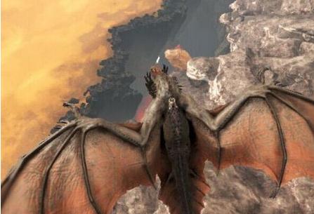 《方舟:生存进化》火龙抓取方法