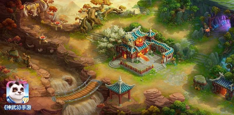 神武3手游唯美画风 乌斯藏地图全新美术更新