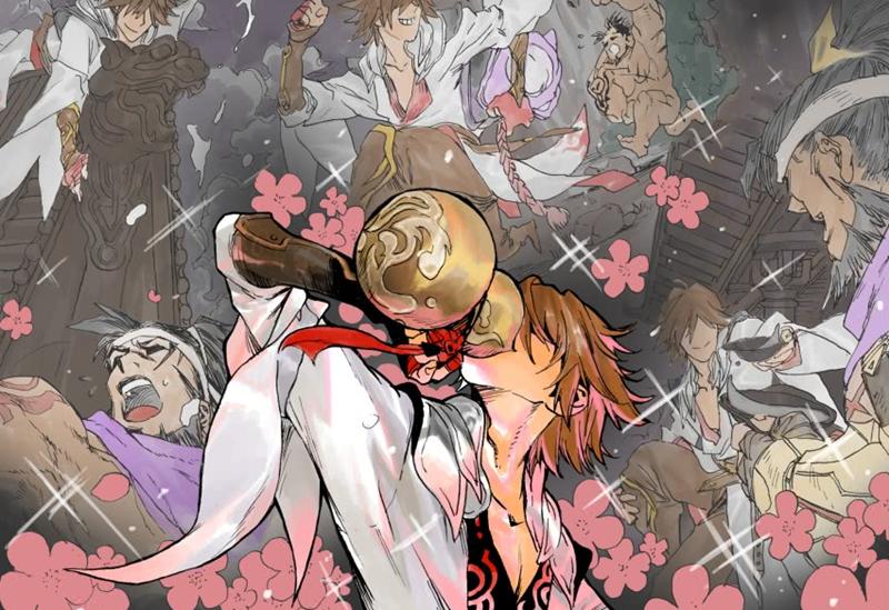 《王者荣耀》首部官方漫画开更,李白为友复仇对战狄仁杰
