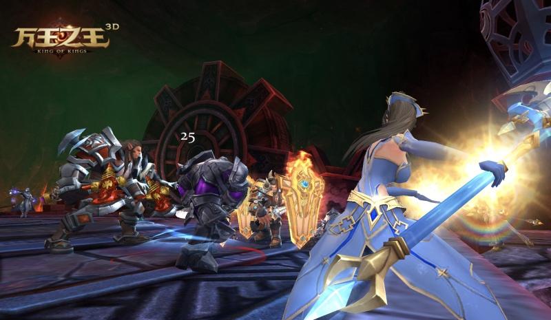 万王之王3D也玩黑科技?新版公会科技等你撩![多图]图片1