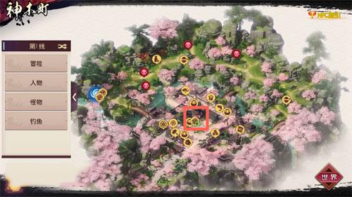 《侍魂胧月传说》神木町寻宝攻略大全