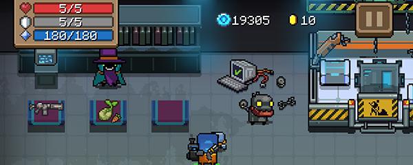 元气骑士如何解锁机器人