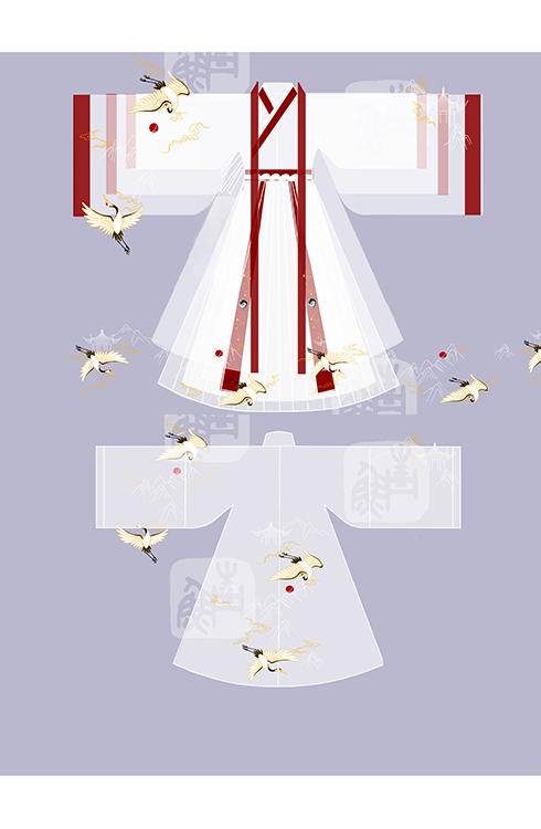 问道手游合作华裳九州:跨界秀出道教元素华服[多图]图片5