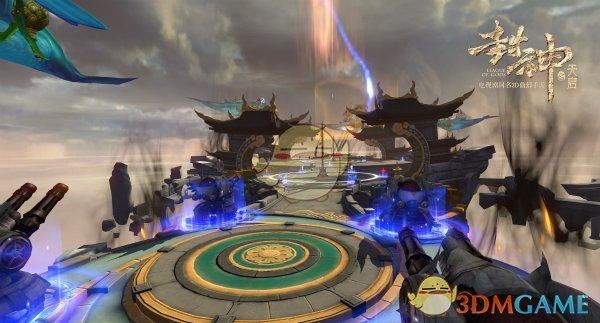 《封神之天启》飞舟战打法解析 领略真正的神仙打架