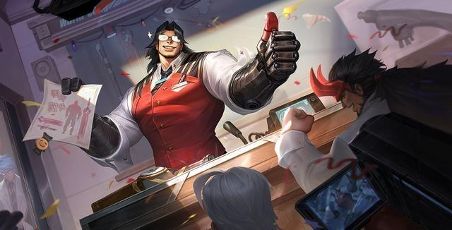 《王者荣耀》项羽科学大爆炸皮肤介绍