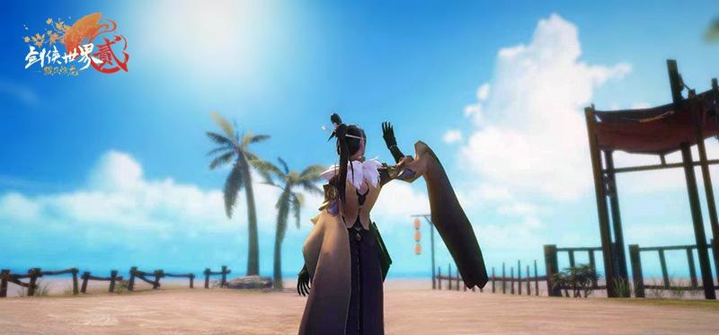 焕然一新的剑侠江湖 《剑侠世界2》全新资料片今日开启