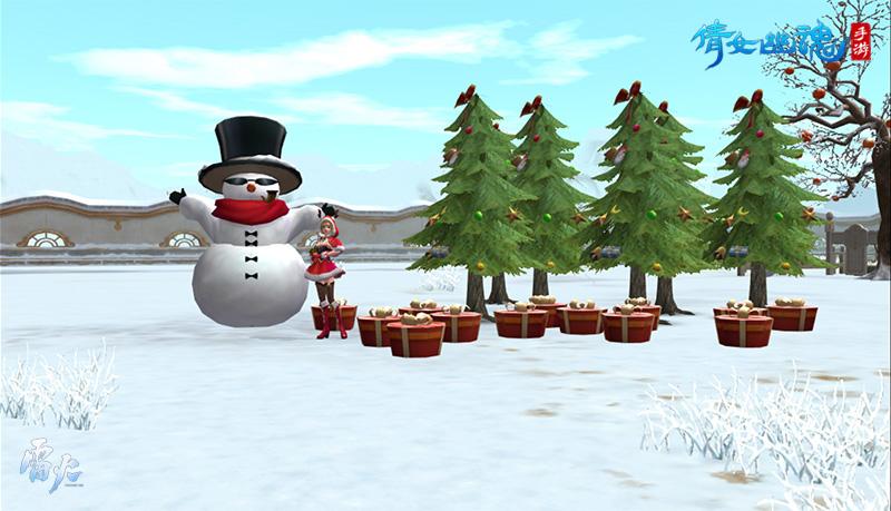 倩女手机游戏十二月更新前瞻,双旦来袭共庆新年!