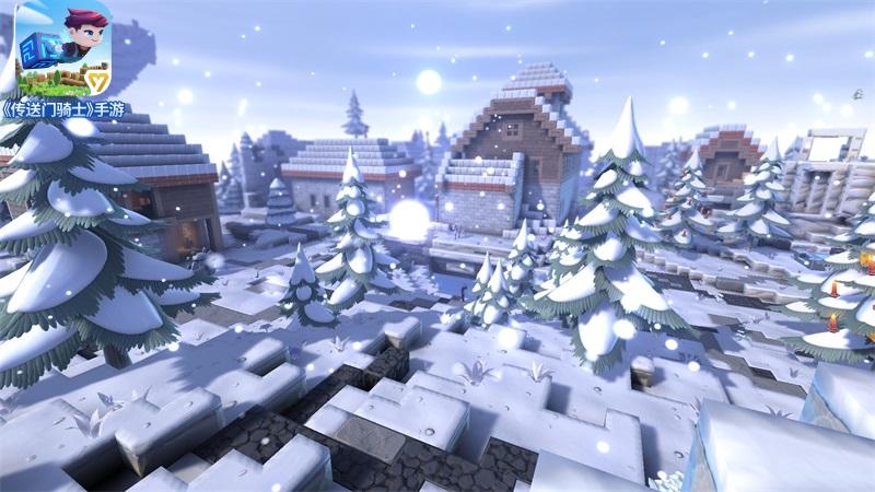 探索圣诞乐园!《传送门骑士》圣诞专属岛屿今日上线[视频][多图]图片3