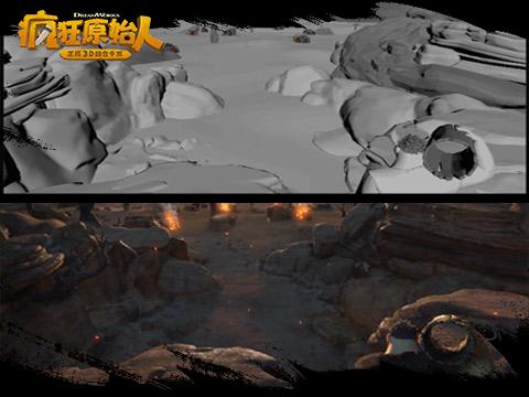 探秘《疯狂原始人》手游CG幕后 细节刻画突破极限