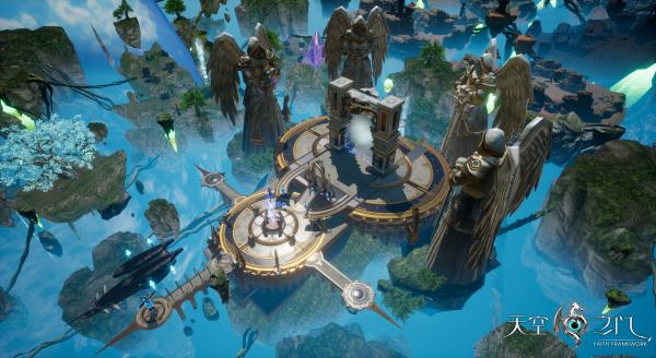《天空之门》全平台公测在即 CG级动画震撼先行[视频][多图]图片4