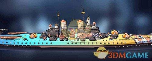 《超次元大海战》地摩图鉴