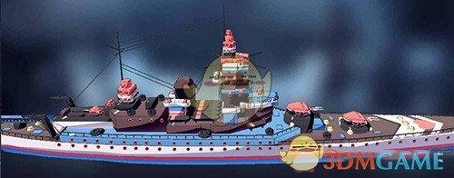 《超次元大海战》南卡罗来纳图鉴
