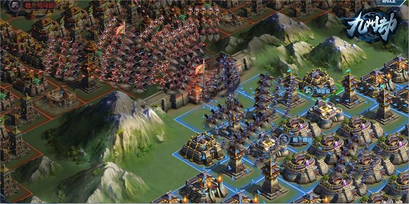 《九州劫》首测定档4月16日:沙盘战争策略新作,三国VS幕府!图片2