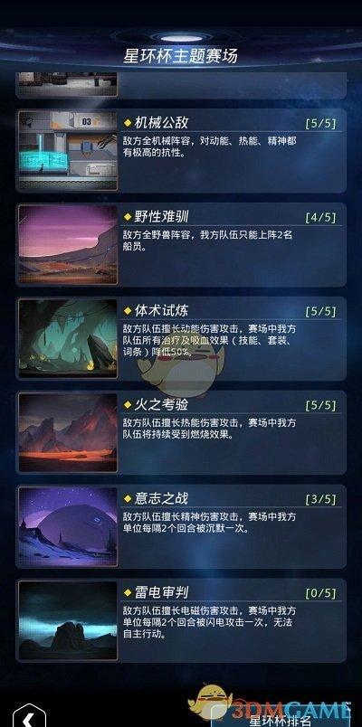 《跨越星弧》星环杯5-5遗迹守护者攻略