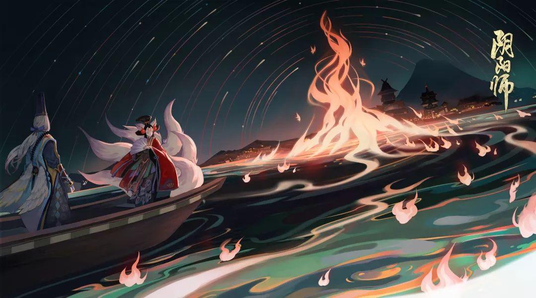 连天渔火离岛歌《阴阳师》全新SSR不知火绘卷抢鲜看