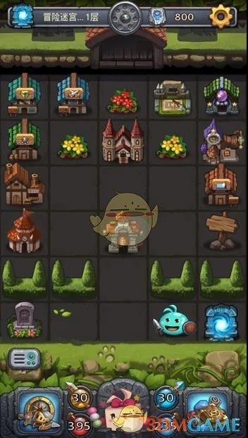 《不思议迷宫》冒险迷宫村全攻略