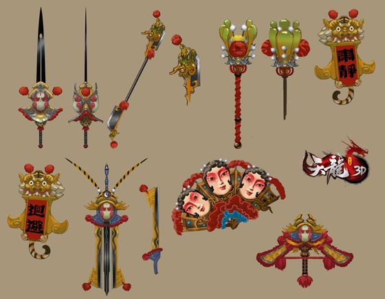 《天龙3D》国粹主题外观,再现传统文化之美!