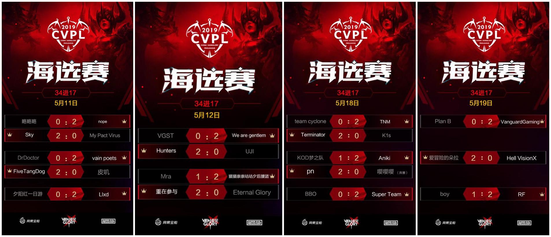 《虚荣》CVPL海选赛结束 全民赛事将开启新阶段