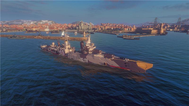 战舰世界闪击战×碧蓝航线联动活动:印第安纳波利斯上线![视频][多图]图片3