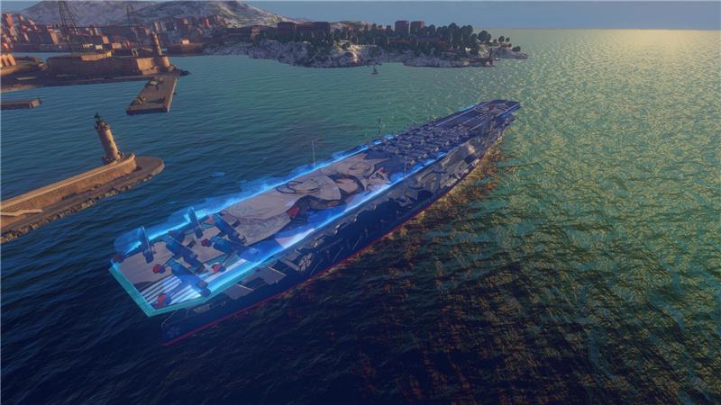 战舰世界闪击战×碧蓝航线联动活动:印第安纳波利斯上线![视频][多图]图片5