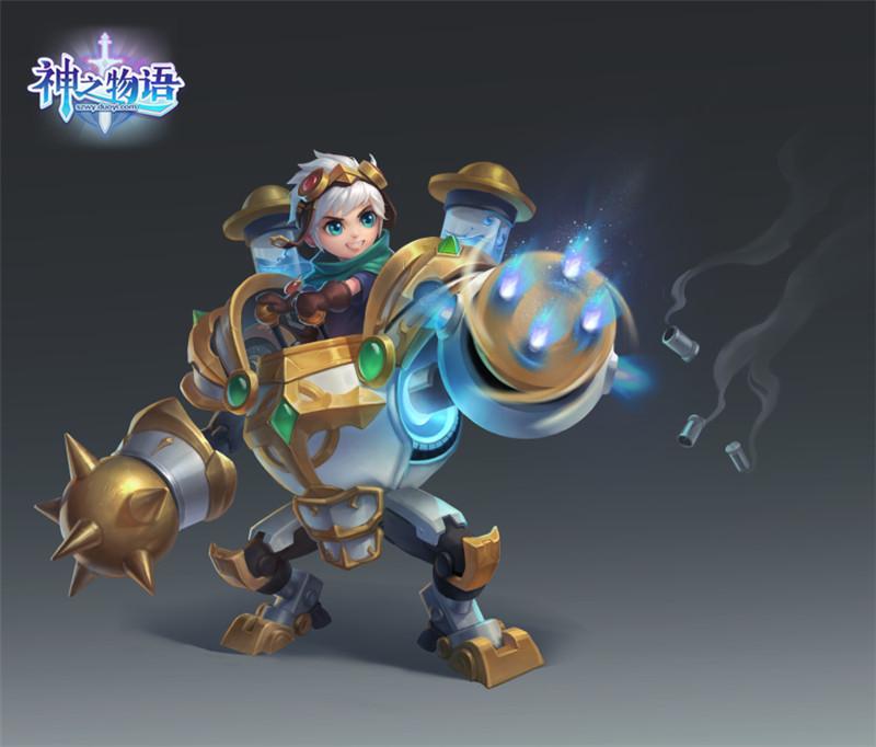 《神之物語》六一活動上線 全新五星騎士魔法機械師登場