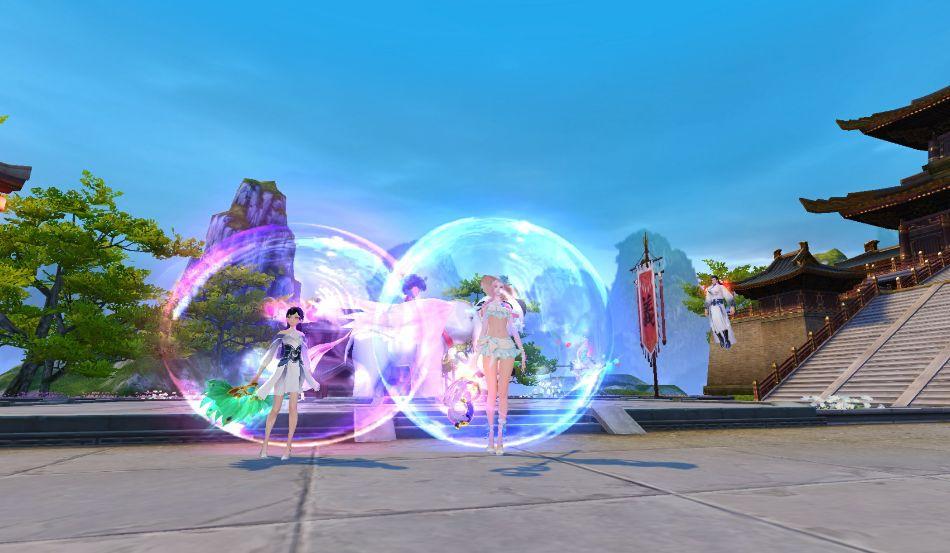 开启吹泡泡决战时刻!《天下》手游等你来吹今夏最大泡泡!