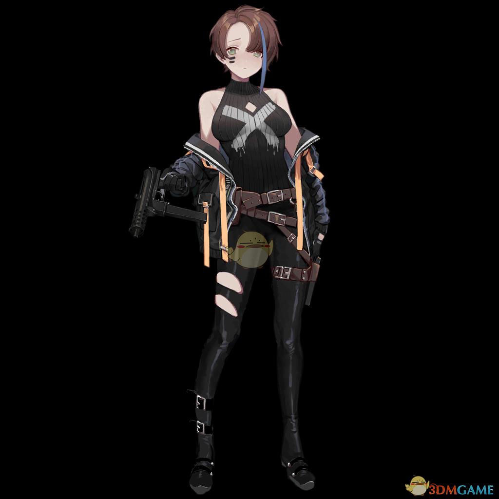 《少女前線》TEC-9圖鑒