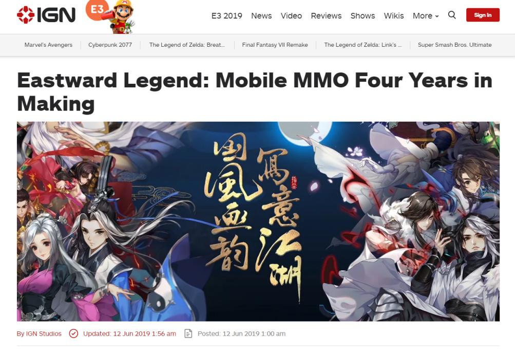 《剑网3:指尖江湖》亮相E3 外媒夸赞:东方武侠让玩家流连忘返图片2