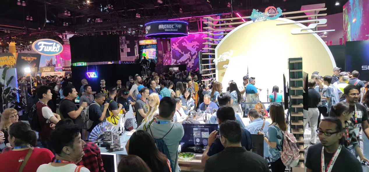 《剑网3:指尖江湖》亮相E3 外媒夸赞:东方武侠让玩家流连忘返图片10